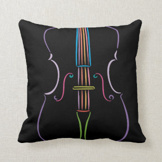 Colorful Cello Cushion