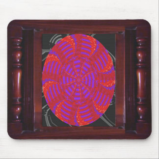 Colorful chakra energy wheel circle round gifts 99 mousepads
