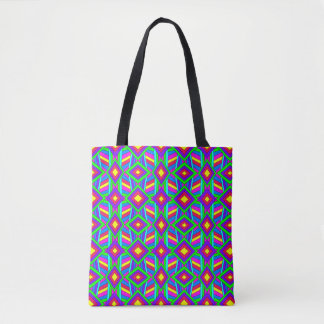 Colorful Chaos 13 Tote Bag