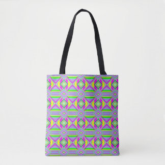 Colorful Chaos 14 Tote Bag