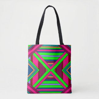 Colorful Chaos 15 Tote Bag