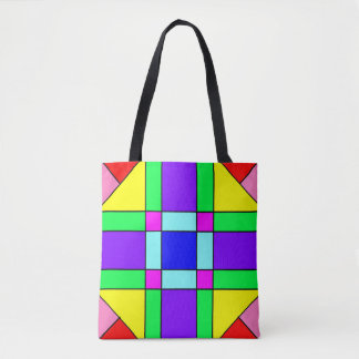 Colorful Chaos 16 Tote Bag