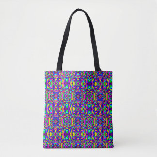 Colorful Chaos 32 Tote Bag