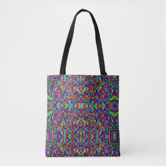 Colorful Chaos 3 Tote Bag