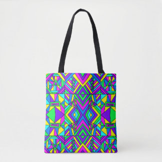Colorful Chaos 8 Tote Bag
