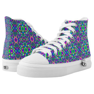 Colorful Chaos 9 High Tops