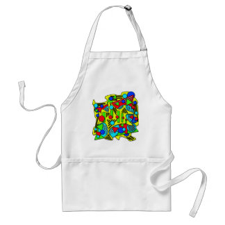 Colorful chaos standard apron