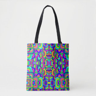 Colorful Chaos Tote Bag