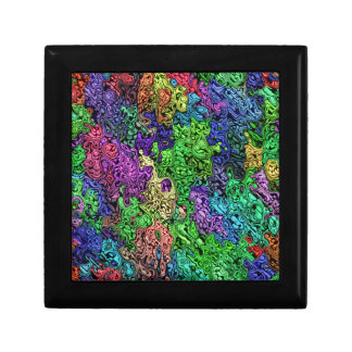 Colorful Chaotic Abstract Gift Box