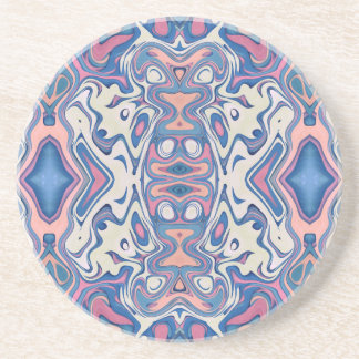 Colorful Chaotic Layers Coaster