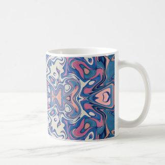 Colorful Chaotic Layers Coffee Mug