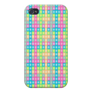 Colorful check pern design case for the iPhone 4