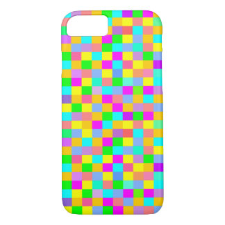 Colorful checkered iPhone 7 case