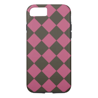 Colorful Checkers - Choco-Cherry iPhone 8/7 Case