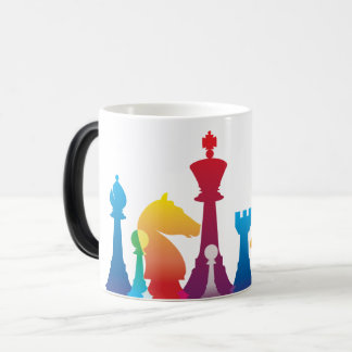 Colorful Chess Mug
