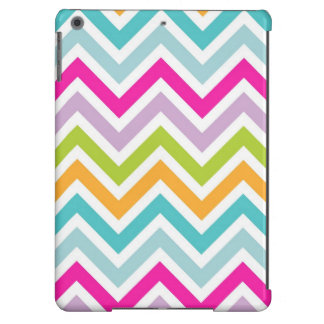 Colorful Chevron Print iPad Air Case