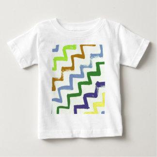 Colorful Chevron Zigzag Stripes Pattern T-shirt