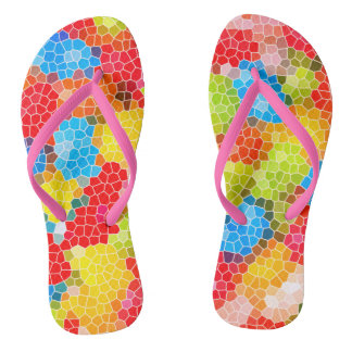 Colorful Chic Pattern Thongs