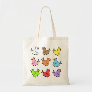 Colorful Chicken Bag
