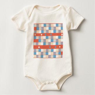 Colorful Childhood Baby Bodysuit