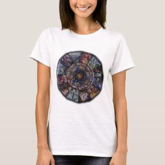 Colorful Chinese Zodiac Wheel T-Shirt