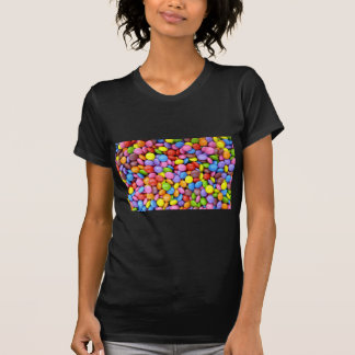 Colorful Chocolate Candy Pattern T-shirt