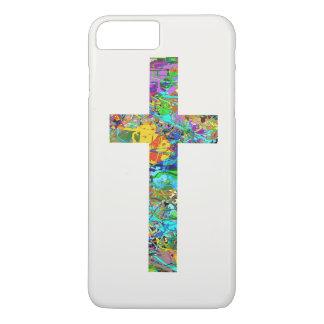 Colorful Christian Cross 1 iPhone 8 Plus/7 Plus Case