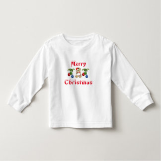COLORFUL CHRISTMAS BOY OR GIRLS LONG SLEEVE CUTE TODDLER T-Shirt