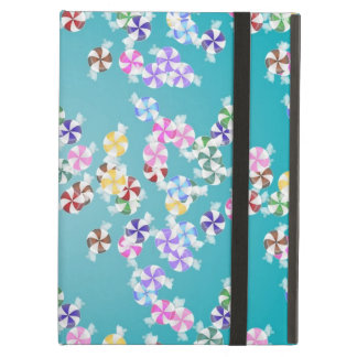 Colorful Christmas Candy iPad Folio Cases