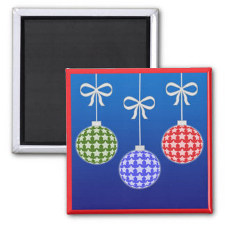 Colorful christmas decoration magnet