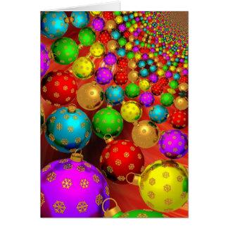 Colorful Christmas Greeting Card