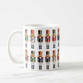 Colorful Christmas Nutcracker Toy Soldiers Coffee Mug