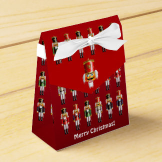 Colorful Christmas Nutcracker Toy Soldiers Favour Box