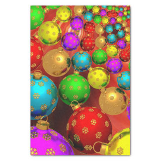 Colorful Christmas Ornament Jubilee Tissue Paper