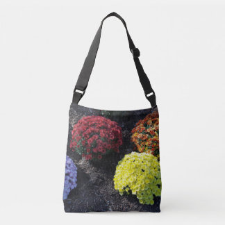 Colorful Chrysanthemums Crossbody Bag