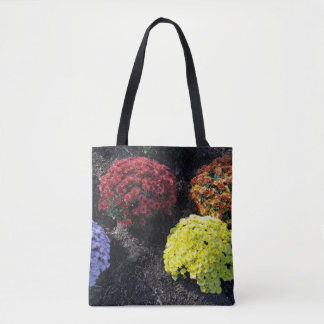 Colorful Chrysanthemums Tote Bag