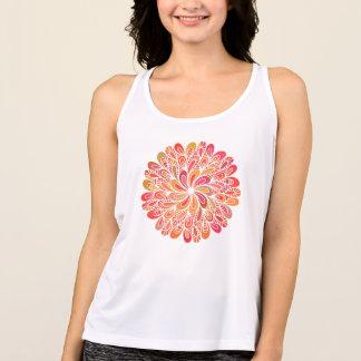 Colorful Circle Mandala Singlet