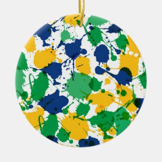 Colorful Circle Ornament