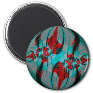 Colorful Circle Round Magnet