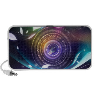 Colorful Circle Speaker