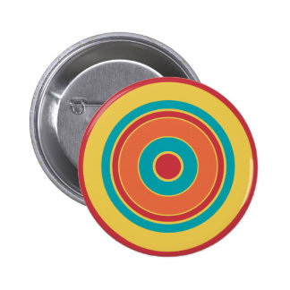 Colorful Circles 05 6 Cm Round Badge