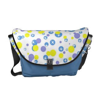 Colorful Circles Courier Bag