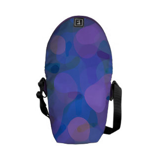 Colorful Circles Courier Bags