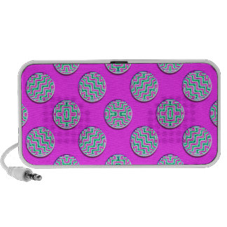 Colorful circles mp3 speaker