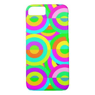 Colorful circular iPhone 8/7 case