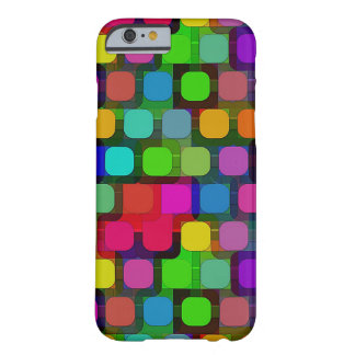 Colorful Circular Pattern Barely There iPhone 6 Case