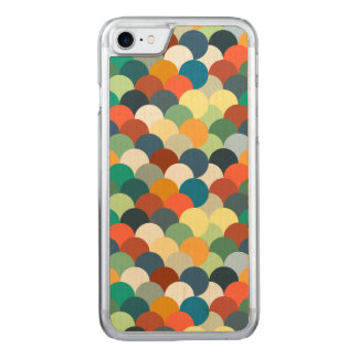 Colorful Circular Pattern Carved iPhone 8/7 Case