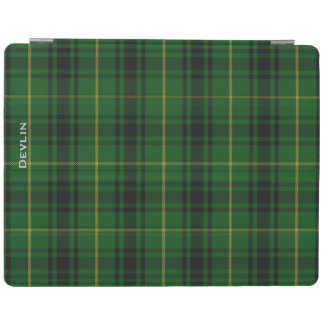 Colorful Clan MacArthur Custom Plaid iPad Cover