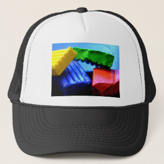 Colorful Clay Trucker Hat