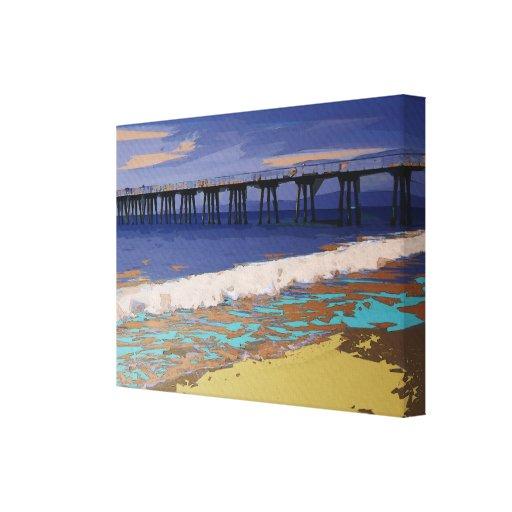 Colorful Coastal Configuration Canvas Prints